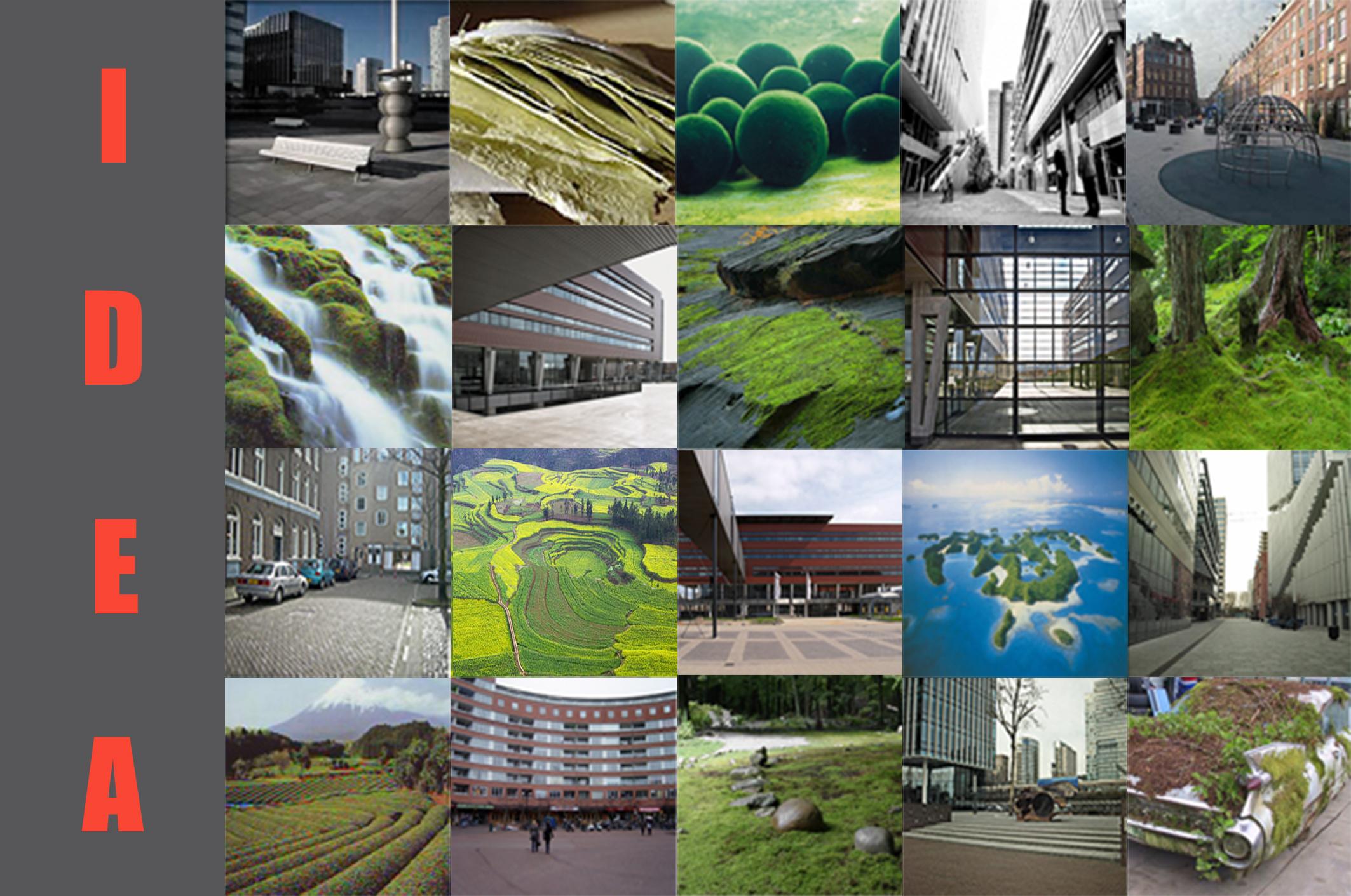 Contemporary Architecture Design Concept Ideas Sketches Overlay