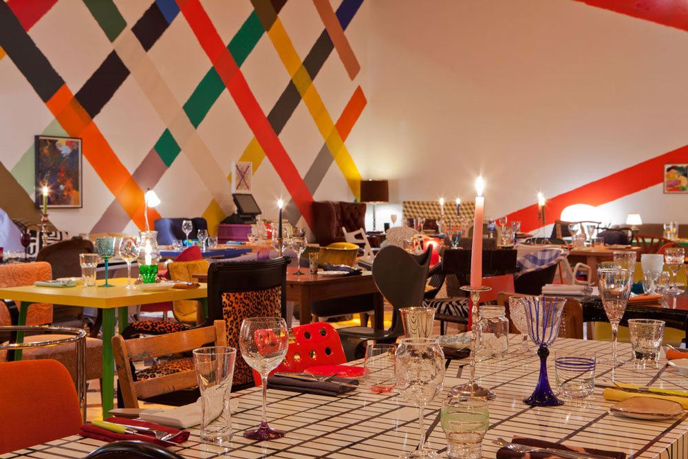 Martin Creed Sketch Restaurant London | AAJ Press