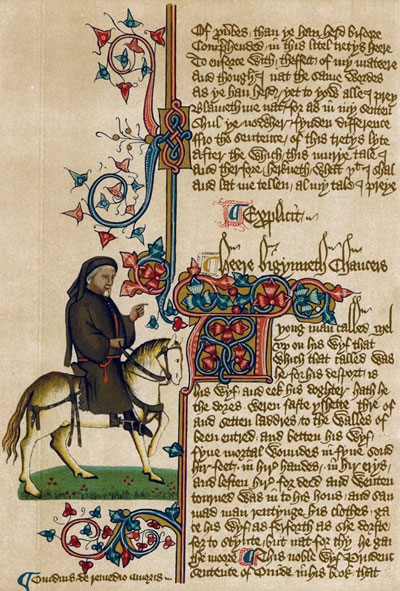 chaucers satire in the middle ages Geoffrey chaucer occupies a unique position in the middle ages  of mankind,  a storyteller, as well as a satirist, one whose satire is usually without real bite.