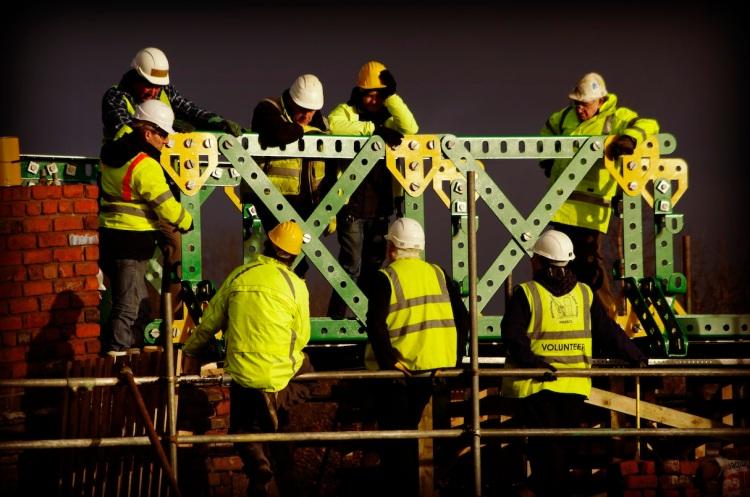 Meccano bridge, Bolton -  DGaskell aka Sleepyg