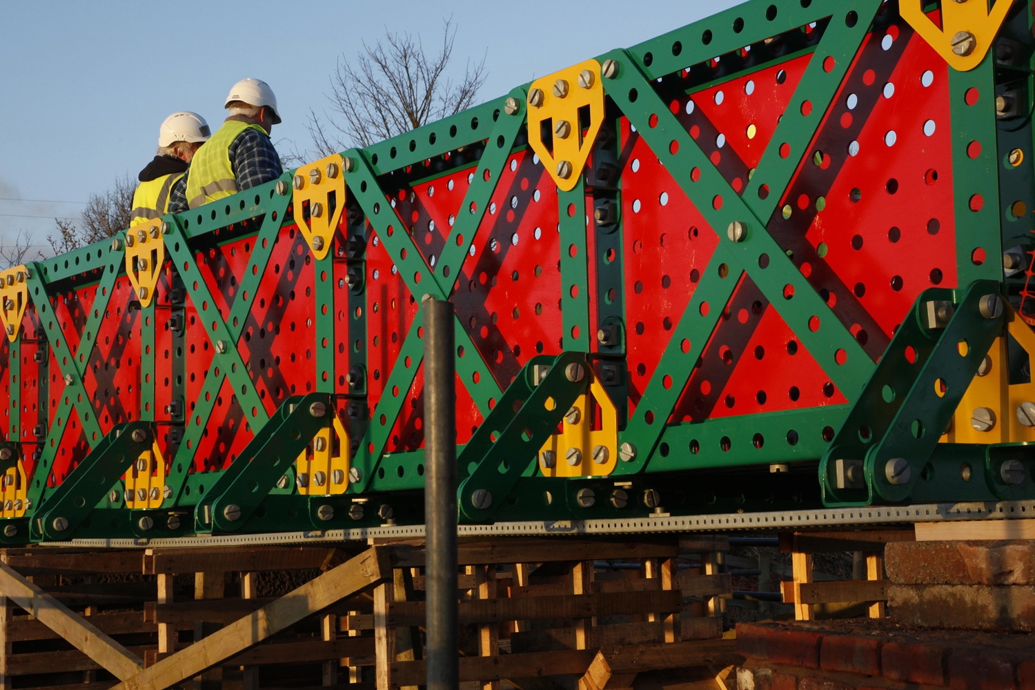 Liam Curtin Meccano Bridge Bolton Aaj Press