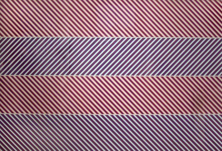 Bridget Riley. the morley college mural