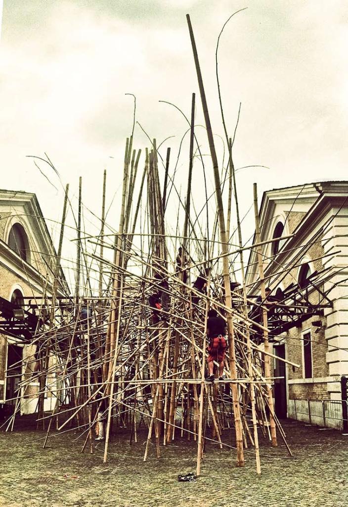 Mike+Doug Starn Big Bambu Rome