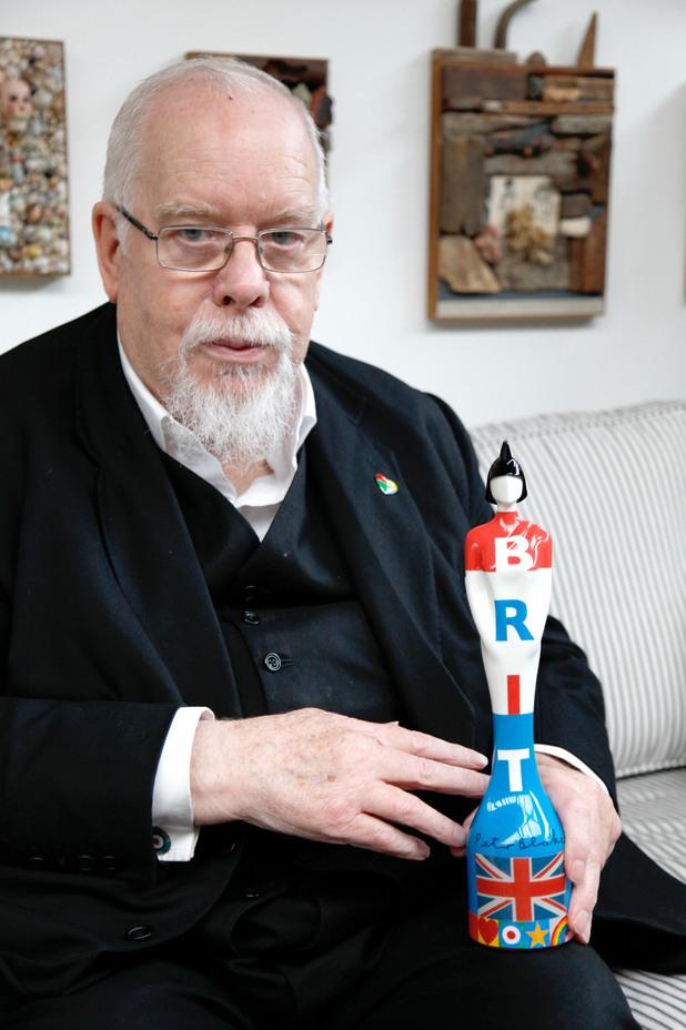 sir peter blake brit award 2011