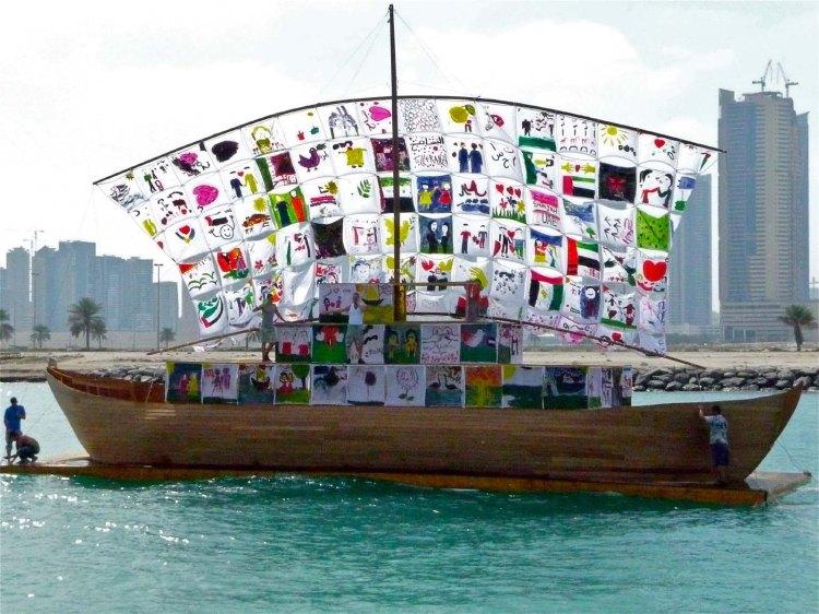 ship of tolerance sharja uae