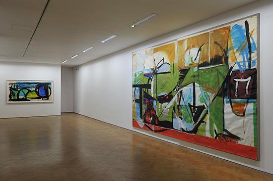 Peter Lanyon MuralStudiesinstallation2