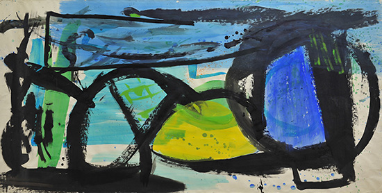 Peter Lanyon Yellow Centre