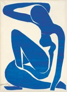 Matisse_Blue Nude I_1952