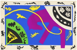 Matisse_Horse and Rider_1947