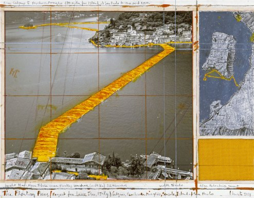 Christo -Floating Piers