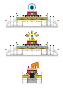 Mirar_drawing, Morag Myerscough & Luke Morgan