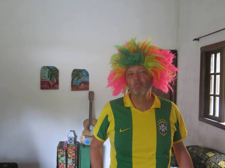 Jeremy Hunt in Brazil Shirt. Itamambuca, Brazil, 2015