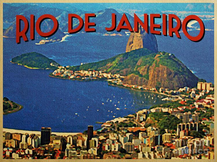 rio de janeiro postcard