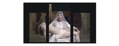 Bill Viola. Mary, St Paul's Cathedral, London. September2016