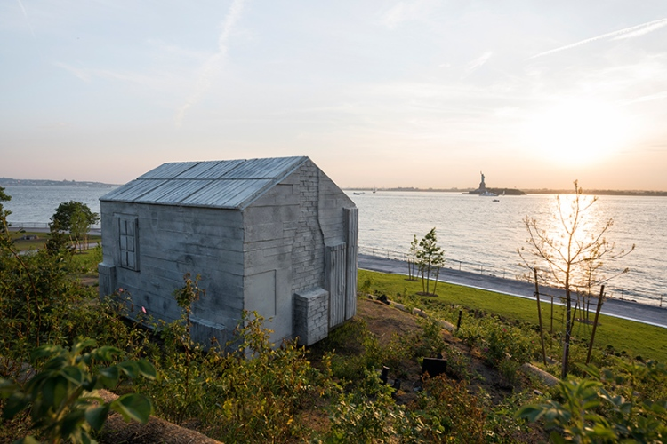 Rachel whiteread The Hills Governors Island 1