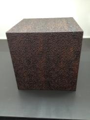 Ai Weiwei, Cube in Ebony, 2009, Rosewood, 100 x 100 x 100 cm