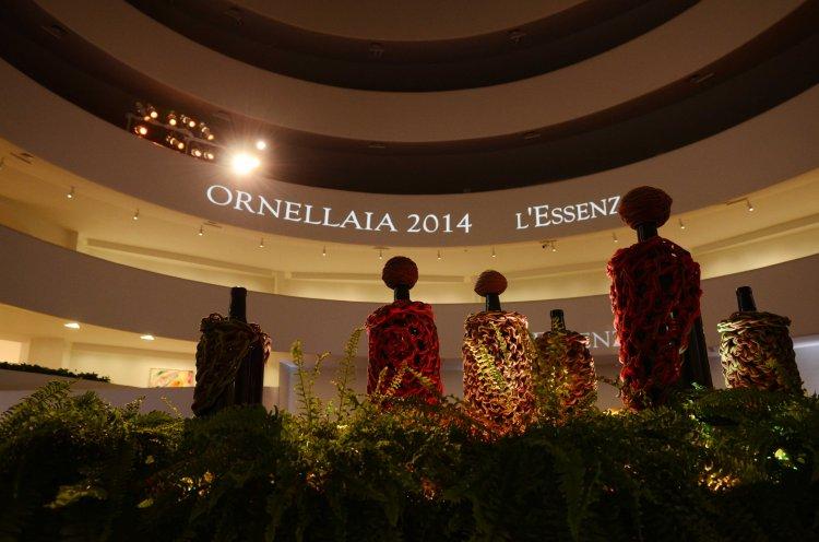Ornellaia 2014 L'Essenza_by Ernesto Neto_NY Guggenheim Museum_1