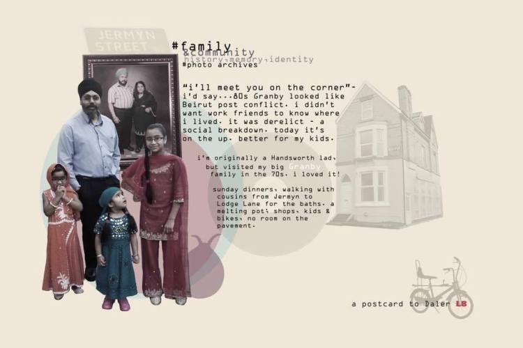 a postcard to Daler L8
