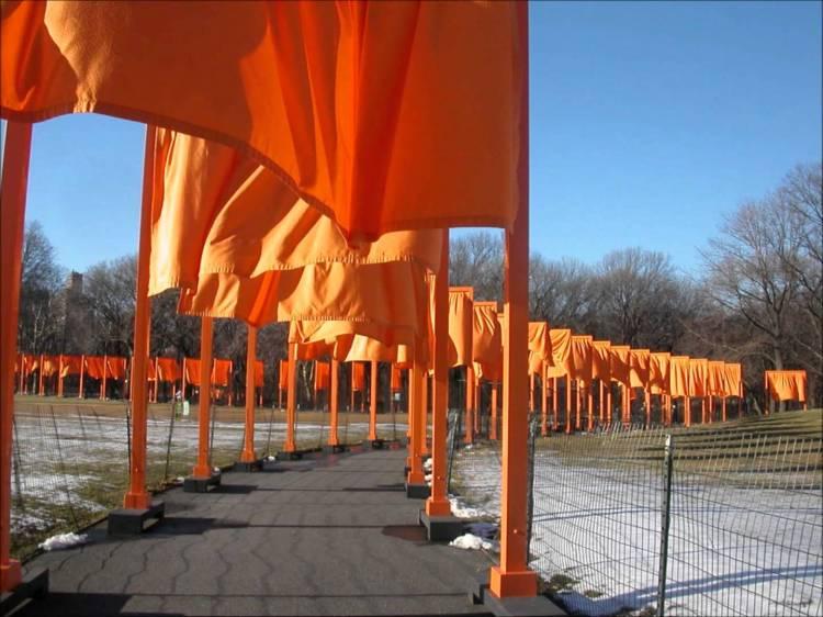 Christo, The Gates, 2005