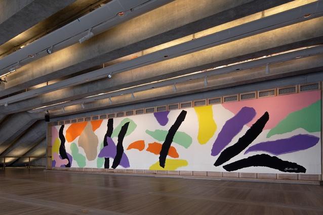 Jorn Utzon Tapestry Sydney Opera House
