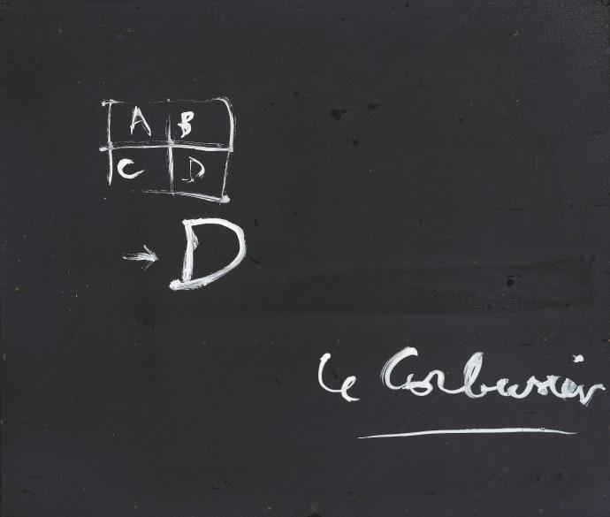 Le Corbusier. Pentecote, verso 1959