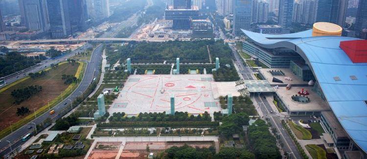Shenzhen civic square