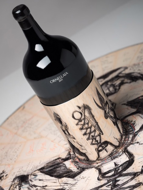 William Kentridge – Ornellaia 2015 'Il Carisma' – Ornellaia Vendemmia d'Artista