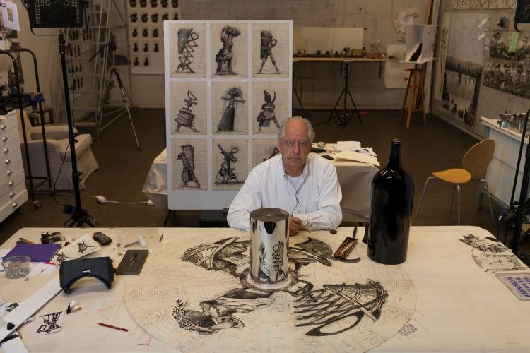 William Kentridge for Ornellaia 2015 Il Carisma Vendemmia d'Artista