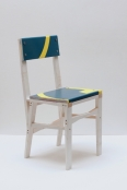 Matt Calderwood, For Sale Chair (Foxtons), 2018, Wood and plastic coated card