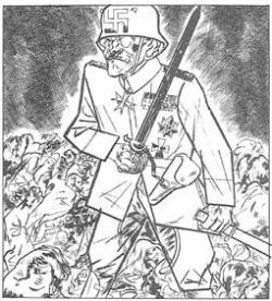 George grosz white general
