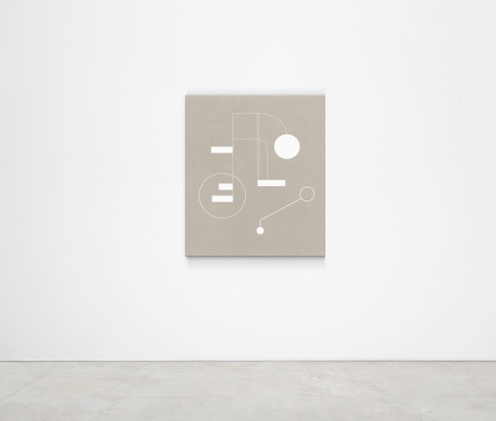 Sinta Tantra. YOUR SKY MAY BE SURFACED INSIDE (BUCKMINSTER FULLER),2018 Tempera on Linen 120 x 100 cm