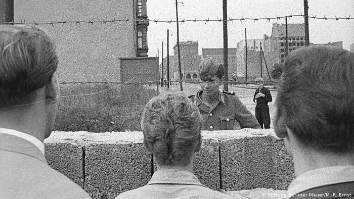 Berlin Wall, August 13,1961