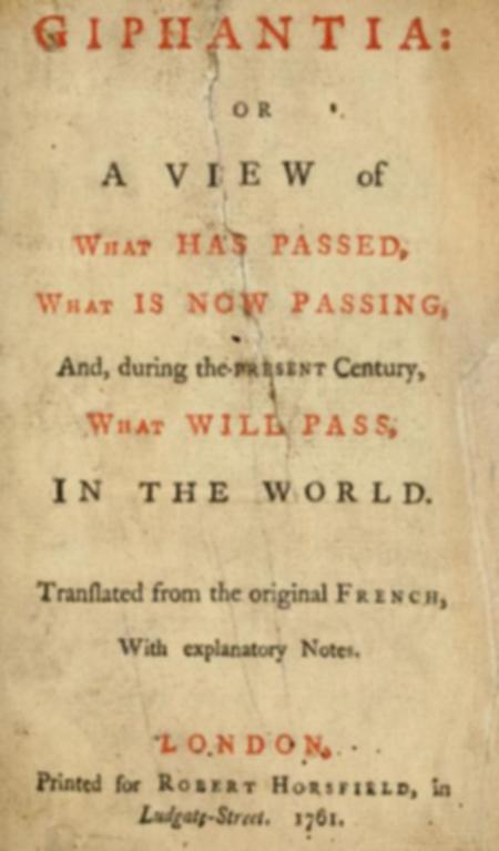 Giphantie 1761