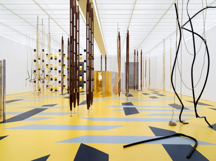 Resonating Spaces. Leonor Antunes 3